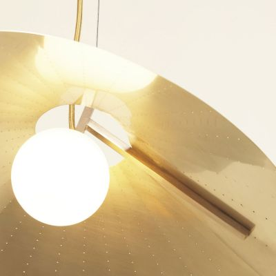 COMPAS SMALL PENDANT LIGHT - ATELIER DE TROUPE