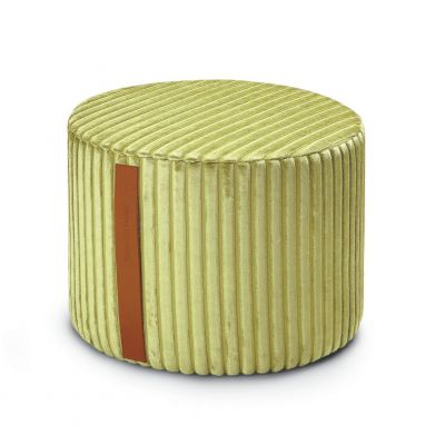 COOMBA T65 CYLINDRICAL POUF Ø40x30 - MISSONI HOME
