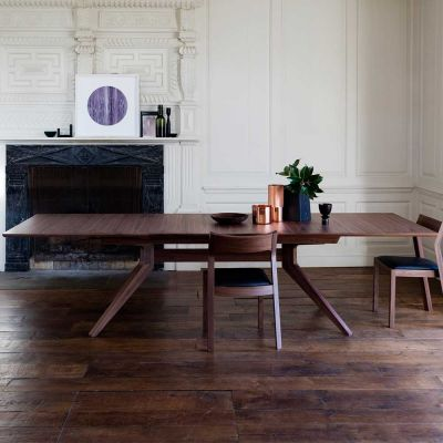 CROSS EXTENDING DINING TABLE - CASE FURNITURE