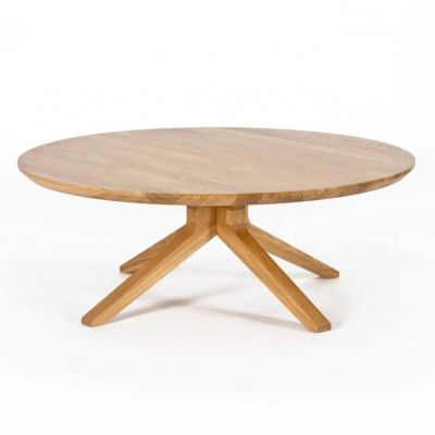 CROSS ROUND COFFEE TABLE - CASE FURNITURE