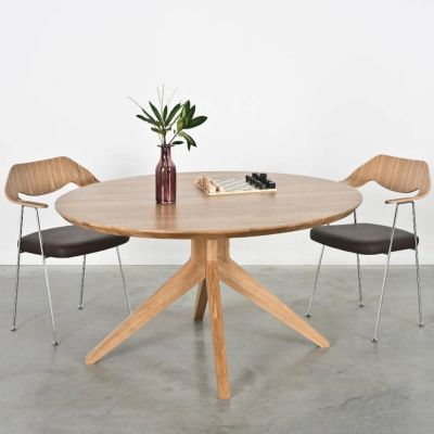 CROSS ROUND DINING TABLE - CASE FURNITURE