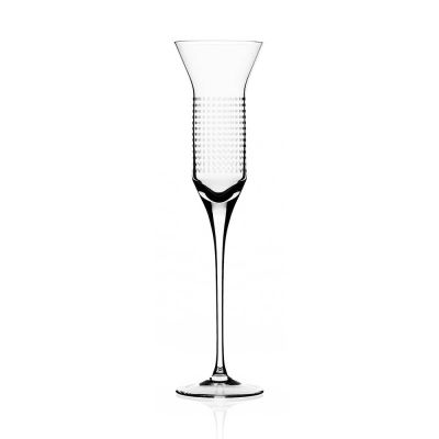 DOTS CHAMPAGNE FLUTE GLASSES (SET OF 2) - BOMMA