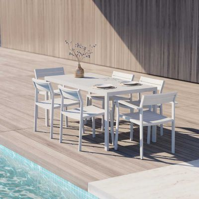 EOS OUTDOOR RECTANGULAR DINING TABLE - CASE FURNITURE