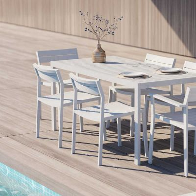 EOS OUTDOOR SIDE DINING CHAIR - CASE FURNITURE