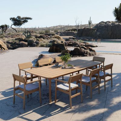 TANSO RECTANGULAR OUTDOOR TABLE - CASE FURNITURE