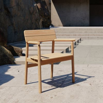 TANSO OUTDOOR ARMCHAIR - CASE FURNITURE