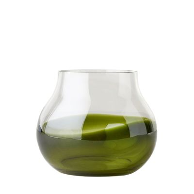 FLOWER VASE N23 MOSS GREEN - RO COLLECTION