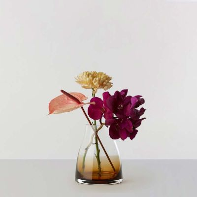 FLOWER VASE N2 BURNT SIENNA - RO COLLECTION