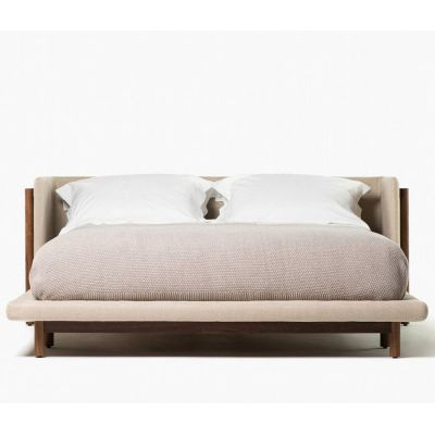 FRAME BED WITH ARMS - NERI & HU