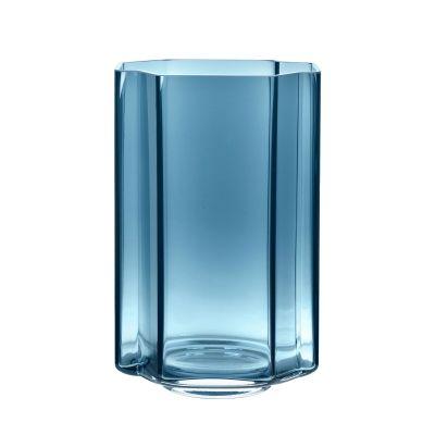 FUNKI VASE ASYMMETRIC BLUE - LOUISE ROE