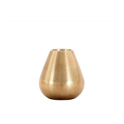 DROP BRASS CANDLE HOLDER - MATTHEW HILTON