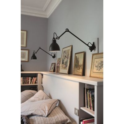 GRAS 222 WALL LAMP BLACK - DCW EDITIONS