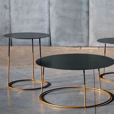 NIMBUS 70 GOLD COFFEE TABLE - HEERENHUIS