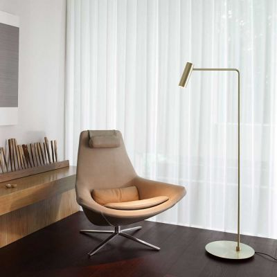 HERON BRASS FLOOR LAMP - CTO