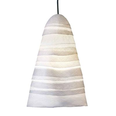 BEATA LARGE LINEN PENDANT