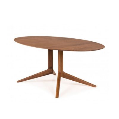 LIGHT OVAL DINING TABLE BY MATTHEW HILTON - DE LA ESPADA