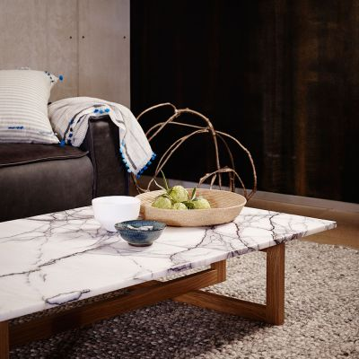3 FRAME COFFEE TABLE / NY MARBLE TOP