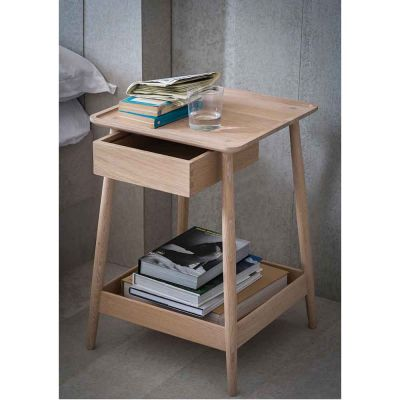 HARLOSH BEDSIDE TABLE - PINCH