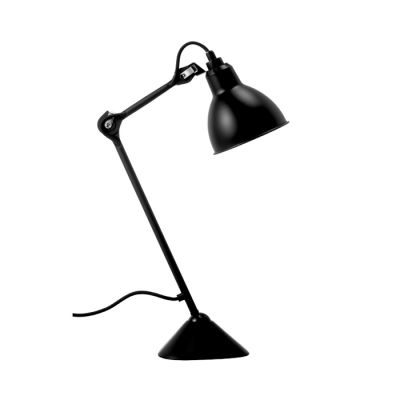 GRAS 205  TABLE LIGHT BLACK SATIN