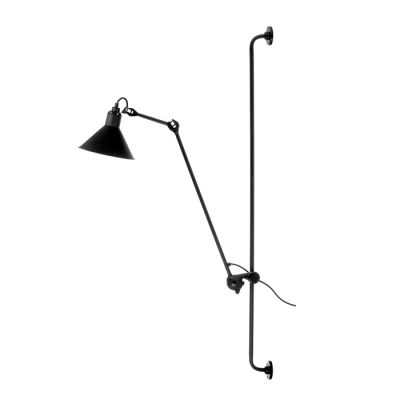 GRAS 214 LARGE WALL LAMP BLACK SATIN