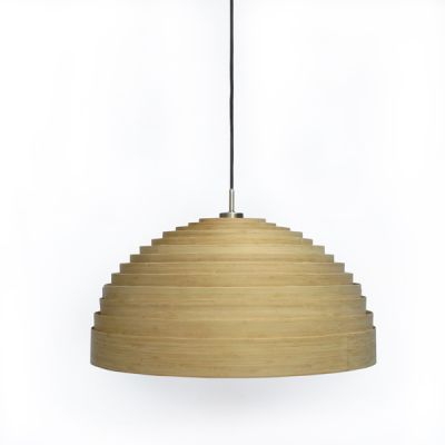 LUMP MEDIUM BAMBOO NATURAL PENDANT LIGHT