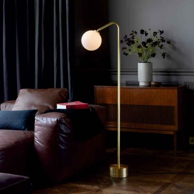 OSCAR BRASS FLOOR LAMP - CTO