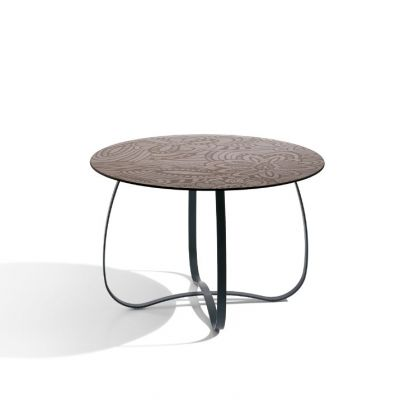 HOLLY GLASS SIDE TABLE - MISSONI HOME