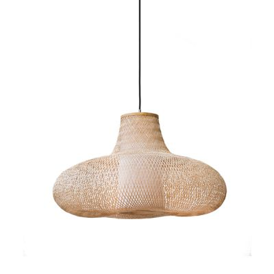 MAY SMALL NATURAL BAMBOO PENDANT LIGHT - AY ILLUMINATE