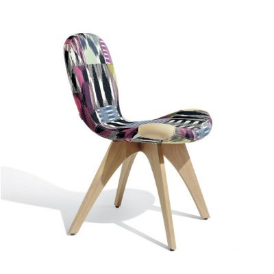 PATCH ONE CHAIR NATURAL WOOD - ARTIFORT