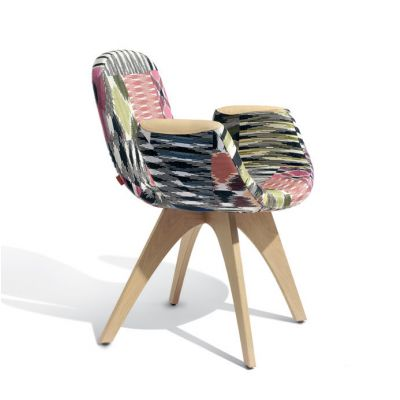 ARTIFORT PATCH TWO ARMCHAIR WOOD NATURAL