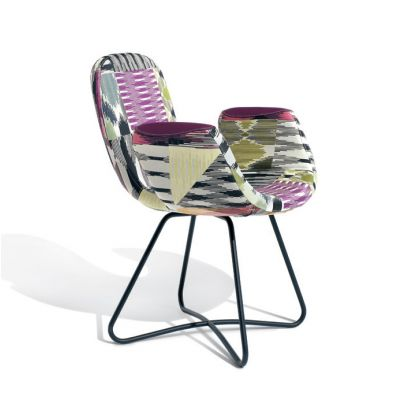 ARTIFORT PATCH TWO ARMCHAIR METAL