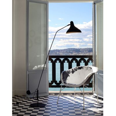 MANTIS FLOOR LAMP ROUND BASE - DCW EDITIONS