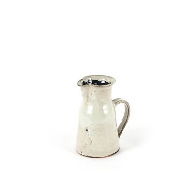 CERAMIC PITCHER LARGE WHITE