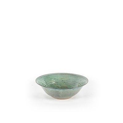 CERAMIC BOWL  MEDIUM GREEN