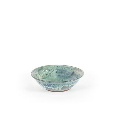 CERAMIC BOWL  LARGE GREEN