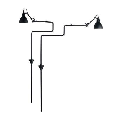 GRAS 217 WALL LAMP BLACK SATIN