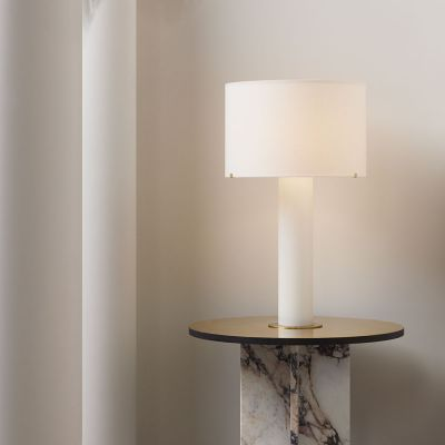 IMPERIAL LINEN TABLE LIGHT - CTO LIGHTING