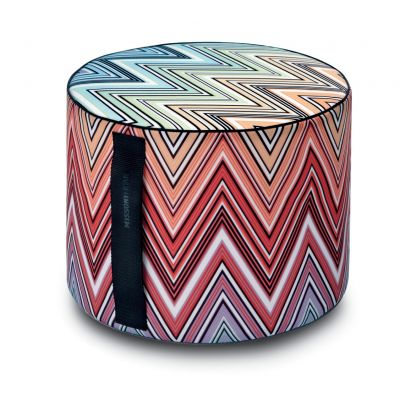 KEW 159 OUTDOOR CYLINDRICAL POUF Ø40x30 - MISSONI HOME