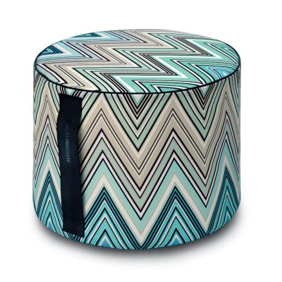 KEW 170 OUTDOOR CYLINDRICAL POUF Ø40x30 - MISSONI HOME