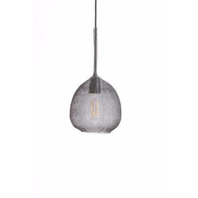 KUTE 050 PENDANT SHADE STEEL SILVER - ATMOSPHERE D'AILLEURS