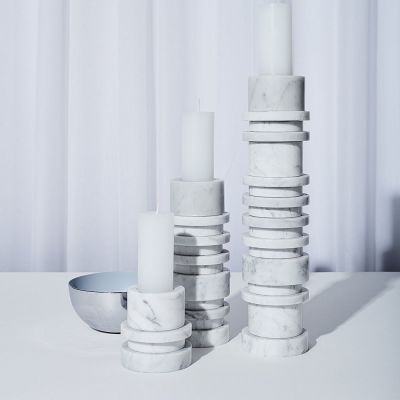 GALLERY OBJECT LIGHT E WHITE - LOUISE ROE