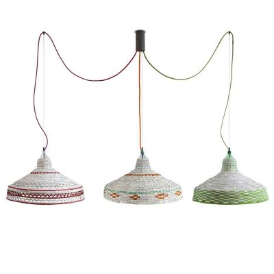 MAPUCHE SET OF 3 PENDANT LAMPS - PET LAMP