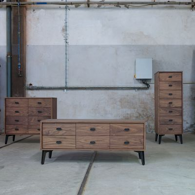 MCQUEEN 8 DRAWER CHEST BY MATTHEW HILTON - DE LA ESPADA
