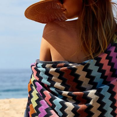 WARNER #159 BEACH TOWEL - MISSONI HOME