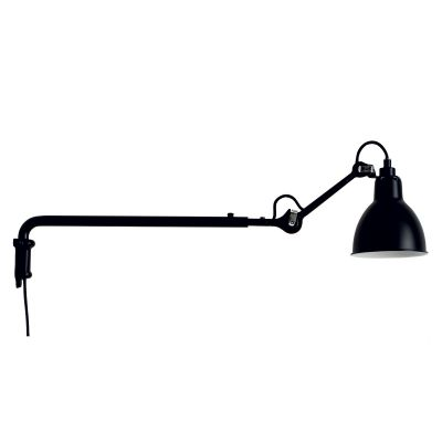 GRAS 203 WALL LAMP BLACK SATIN - DCW EDITIONS