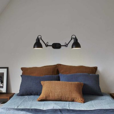 GRAS 204 DOUBLE WALL LAMP BLACK - DCW EDITIONS