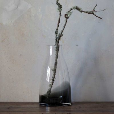 FLOWER VASE N3 SMOKED GREY - RO COLLECTION