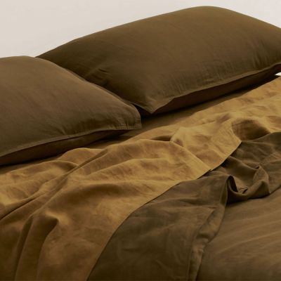 IN THE SAC BUTTON QUILT SET OLIVE