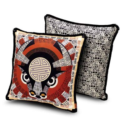 2018 OROSCOPO OX CUSHION 40x40 - MISSONI HOME