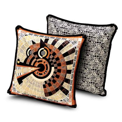 2018 OROSCOPO HORSE CUSHION 40x40 - MISSONI HOME